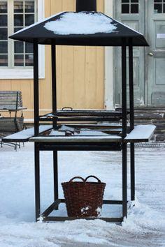Piazzan: Vinter på Gunnebo