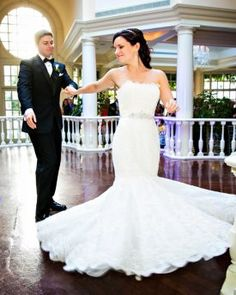 Bride and Groom First Dance at DC Fairmont Wedding | Kurstin Roe Photography