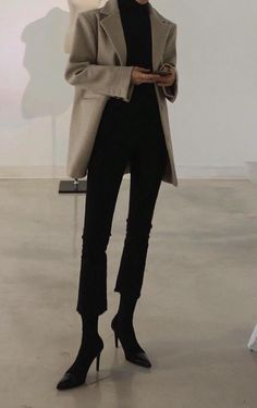 Fitness Outfits Minimal Chic 55 New Ideas Classy Outfits, Chic Outfits, Fashion Outfits, Fashion Tips, Fashion Trends, Womens Fashion, Fashion Ideas, Look Fashion, Korean Fashion