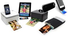 PhonePrinters    >iPhone Printer Cube > The Wireless Smartphone Printer >  iPhone Printer Case > Polaroid Instant Mobile Printer