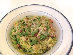 take a bite: Zucchini Noodle Carbonara
