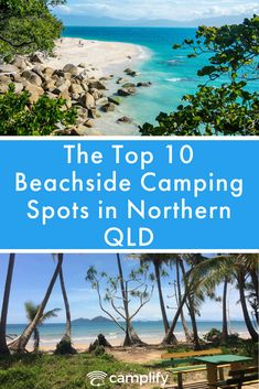 The Top 10 Beachside Camping Spots in Northern Queensland, Looking to go fishing, hiking, or relaxing in Northern Queensland? Then you'll want to know the best beachside camping spots! Camping Places, Camping Spots, Places To Travel, Travel Destinations, Places To Visit, Roadtrip Australia, Australia Travel Guide, Travel Oz, Australian Road Trip