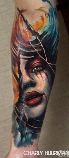 Charles Huurman #tattoo #tatuaje #pinkterest #lovetattoos #colourtattoo #crazyytattoos #radtattoos #realistictattoo #toptattooartist #art #tattoos #tattooed #tattooart #inked #coloretattoo #skindeep #inkedmagazine #ink #tattoocollective #tattooworkers #bodyart #skinartmagtraditional #tattoocollective #bodyart #tattooworld #skinartmag #inkedup #thebestspaintattooartists #valenciatattoos #tatuajesvalencia #realismtattooing #realismtattoo #charleshuurman #utopiantattootribe