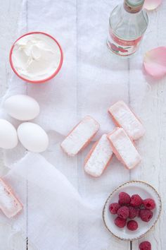 Recipe for Raspberry & Rosewater Cheesecake from Christelle & Design Sponge