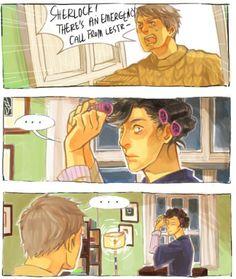 hahaha! #Sherlock