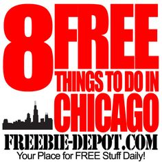8 FREE Things to do in Chicago #chicago #thingstodoinchicago #thingstodo