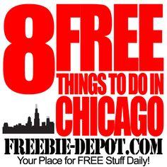 8 FREE Things to do in Chicago #chicago #thingstodoinchicago #thingstodo
