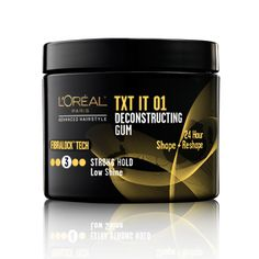 Advanced Hairstyle TXT IT Deconstructing Gum. Best product I have used for my thick, curly hair.