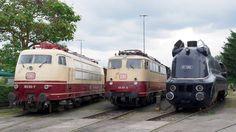 Schnellzugloktreffen Aus Anlass des 175-jährigen Eisenbahnjubiläums lud das Süddeutsche Eisenbahnmuseum am 19. und 20.06.2010 zu einem Schnellzugloktreffen ein, mit lokkräftiger Unterstützung aus dem DB-Museum Koblenz Lützel.