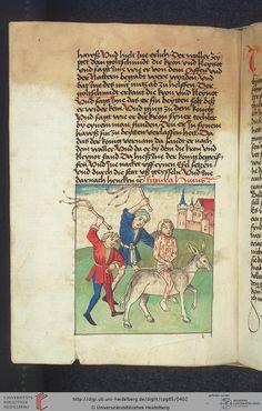 Cod. Pal. germ. 85: Antonius von Pforr: Buch der Beispiele (Schwaben, um 1480/1490), Fol 197v