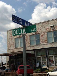 Clarksdale MS, had lunch here, Morgan Freeman's restaurant.