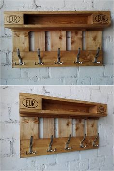 Wooden Pallet Projects 30 Simple And Easy DIY Pallet Shelves And Storage Design Ideas Wooden Pallet Projects, Wooden Pallet Furniture, Pallet Crafts, Pallet Ideas, Pallet Designs, Recycled Pallets, Wood Pallets, Buy Pallets, Pallet Wood