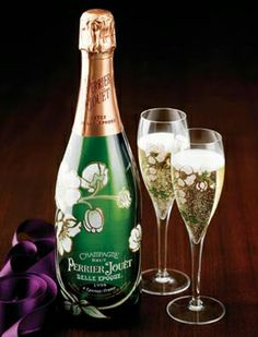 Belle Epoque Perrier-Jouet. If only for the bottle.