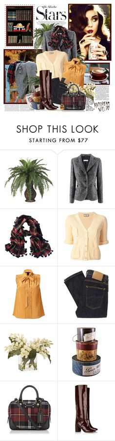 """It's All in the Stars"" by helleka ❤ liked on Polyvore featuring NUR, Karl Lagerfeld, Nearly Natural, Mackintosh Philosophy, Moschino, Marc by Marc Jacobs, Nudie Jeans Co., Ethan Allen, Chloé and Manish Arora"