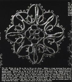 tatting - possible tree ornament http://www.georgiaseitz.com/public/teri/teridusenbury/tatters-archive-tattingcraft-bk3-valeire.pdf