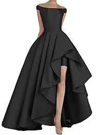 10e443e120b online shopping for LeoGirl Womens Off Shoulder Asymmetrical Satin Prom  Dresses Simple Formal Evening Gown from top store. See new offer for LeoGirl  Womens ...