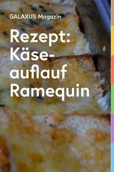 Dieser Brotauflauf ist ein echter Schweizer Klassiker, weil er so simpel und lecker ist. Fonduekäse, Weisswein, Eier, Milch und Brot, dann noch etwas geriebene Muskatnuss und Schnittlauch. Fertig ist das köstliche Gericht aus dem Welschland. Grüner Blattsalat passt perfekt dazu. Simon zeigt dir, wie dir der Käseauflauf gelingt. Agatha Christie, Tricks, Banana Bread, Vegetarian Recipes, Food And Drink, Menu, Pasta, Camping, Winter