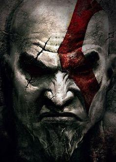 Kratos  GOD OF WAR Concept Art