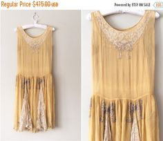 Hey, I found this really awesome Etsy listing at https://www.etsy.com/listing/267221121/20-off-vintage-1920s-dress-silk-chiffon