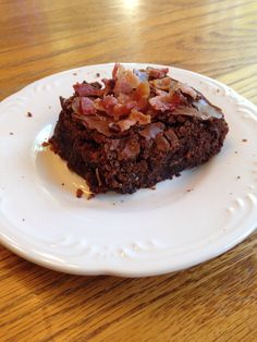 How to Make Bourbon Bacon Brownies