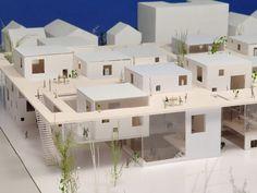 little people model architecture Social Housing Architecture, Co Housing, Urban Architecture, Architecture Tools, Computer Architecture, Architecture Student, Architecture Concept Diagram, Arch Model, Layout