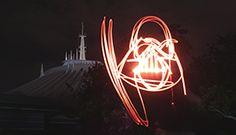 Light Painting Once Again Takes Art into Mid-Air Inside Magic Kingdom Park tami@goseemickey.com
