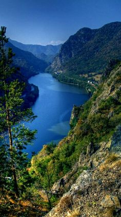 Olt river Romania