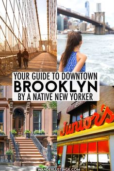 Your insider guide to Downtown Brooklyn and Brooklyn Heights written by a native New Yorker, including the best things to do in downtown Brooklyn and where to eat near the Brooklyn Bridge. #travel #brooklyn #NYC #NewYork