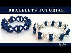 Easy beaded bracelet pattern in less than 10 min. - YouTube
