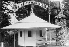 Lily Dale Assembly, Lily Dale, N.Y. Visit this leafy compound, and you might end up chatting with your ancestors. Although known for its annual spiritualism assembly, this peaceful hamlet south of Buffalo overflows year-round with mediums and those seeking their counsel.