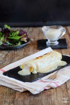 Mi Gran Diversión: Canelones de pollo a la catalana New Recipes, Cooking Recipes, Pasta Al Dente, Gourmet Sandwiches, Good Food, Yummy Food, Rice Pasta, Food Decoration, Sin Gluten
