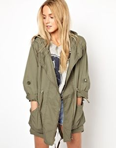 Image 1 of Primark Studded Parka