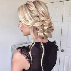 Chic Hairstyles, Bride Hairstyles, Amazing Hairstyles, Wedding Hairstyles Tutorial, Hairstyle Ideas, Hairstyle Tutorials, Hairstyle Short, Short Haircut, Natural Hair Styles