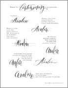 Contemporary/Modern Calligraphy How To Tutorial
