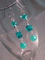 Basic Wire Wrap Earrings Tutorial | The Art of Megan