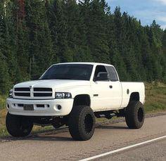 Cummins Lifted Cummins, 2nd Gen Cummins, Cummins Diesel Trucks, Dodge Diesel, Ram Trucks, Dodge Trucks, Pickup Trucks, White Truck, Jacked Up Trucks