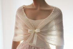 Wedding Shawl Bridal Shawl Bridal Wedding Stole Ivory