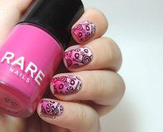 Marinelovespolish Candy Nails using BM306