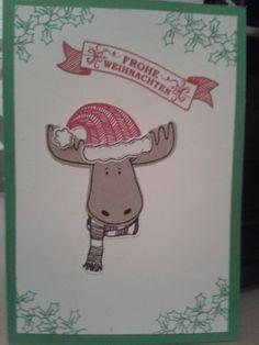 #Tipp der Woche 35: Weihnachtskarte mit Stempelset Jolly Friends