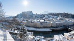 Winter in Salzburg Austria Salzburg Austria, Winter Day, Order Prints, My Images, San Francisco Skyline, Paris Skyline, Online Shipping, Explore, City
