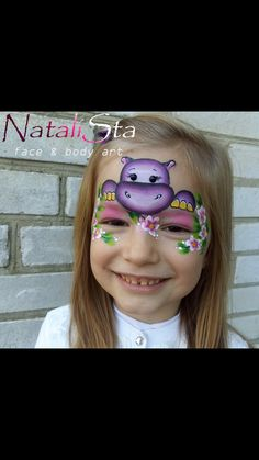 Animal Face Paintings, Animal Faces, Face Painting Designs, Body Painting, Monkey Face Paint, Superhero Face Painting, Christmas Face Painting, Cheek Art, Extreme Makeup