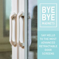 1000 images about phantom legacy retractable screens on for Retractable screen door replacement magnet