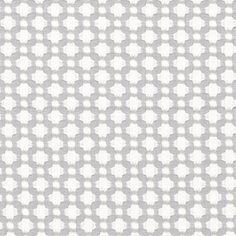 Betwixt   65684 in Zinc/Blanc   Schumacher Fabric