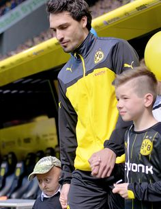 Marco Reus, Mats Hummels, and Nothing Else : Photo