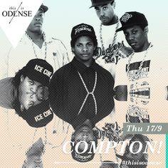 Straight Out Of Compton premiere. Hårdkogt musikhistorie. Torsdag d. 17. sep. kl. 21:30 Læs anbefalingen på: http://www.thisisodense.dk/da/20493/straight-out-of-compton-premiere