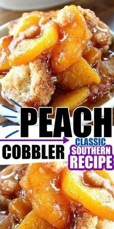 Easy Desserts, Delicious Desserts, Yummy Food, Tasty, Pie Dessert, Dessert Recipes, Fruit Cobbler, Cobbler Recipe, Puff Pastry Desserts