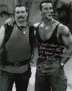 Commando - Arnold Schwarzenegger - Vernon Wells