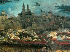 Albrecht Altdorfer  The Battle of Alexander at Issus (detail)  1529