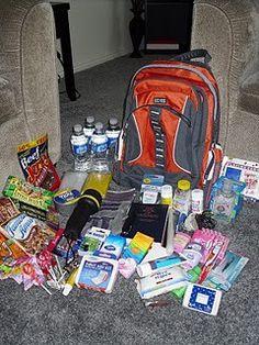 emergency preparedness kit organize-me