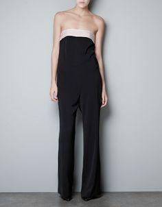 BANDEAU JUMPSUIT - Dresses - Woman - ZARA